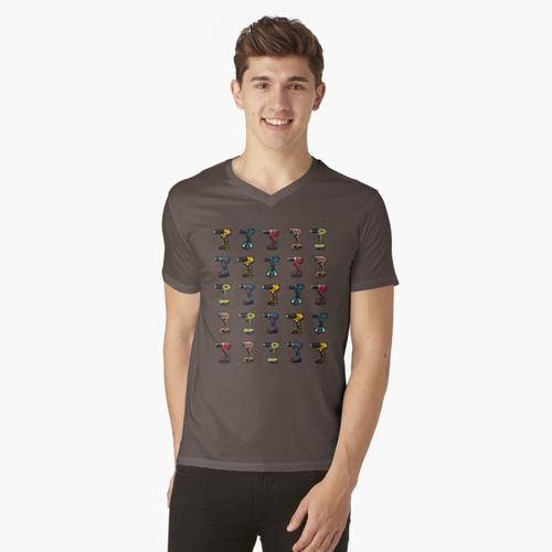 Hersteller v2 t-shirt:vneck