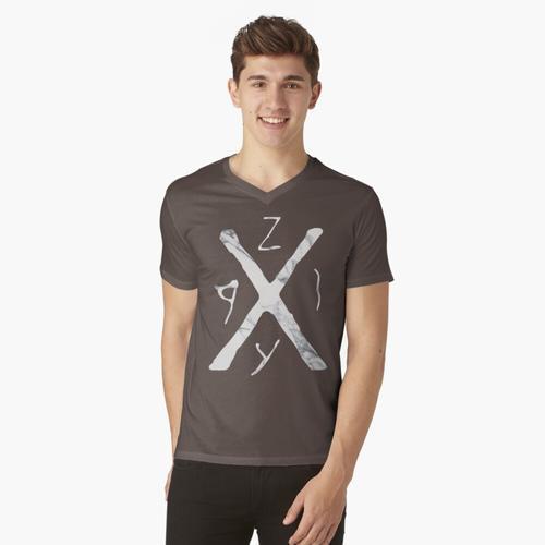 Franky Doyle Hemd t-shirt:vneck