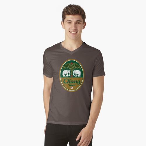 Chang Bier t-shirt:vneck