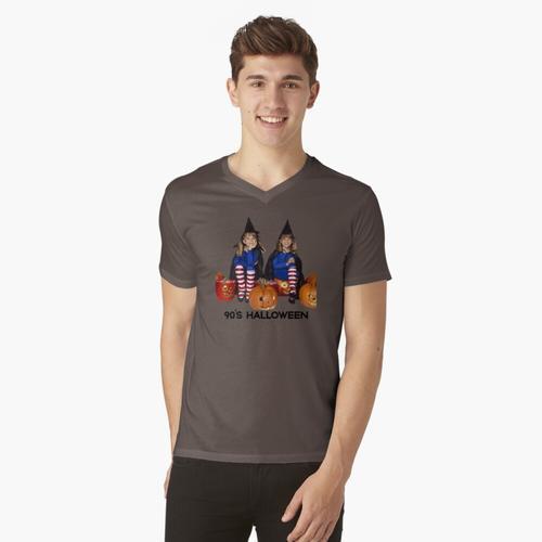 doppelte doppelte Arbeit und Ärger t-shirt:vneck