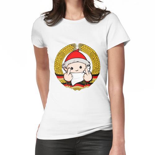 Sandmann mit Stinkefinger Frauen T-Shirt