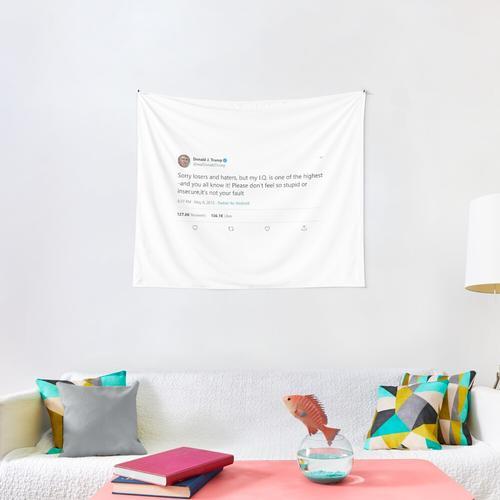 Trump Tweet Wall Tapestry