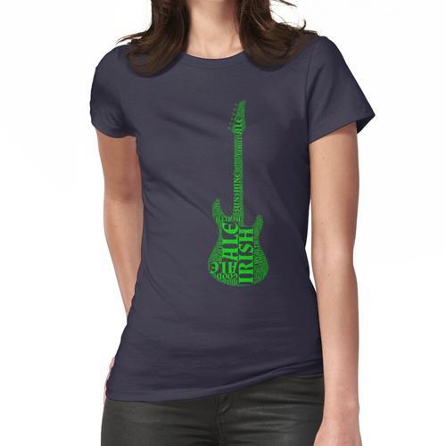 Irische E-Gitarre - Rock'n'Roll! Frauen T-Shirt