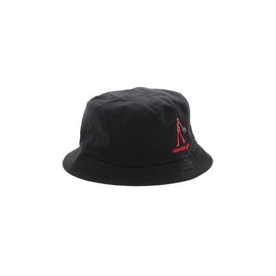 The Girls Hat: Black Accessories - Size Medium