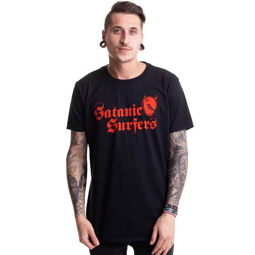 Satanic Surfers - Devil Logo - - T-Shirts