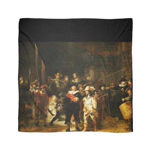 REMBRANDT. Die Nachtwache. Von Rembrandt van Rijn. Tuch