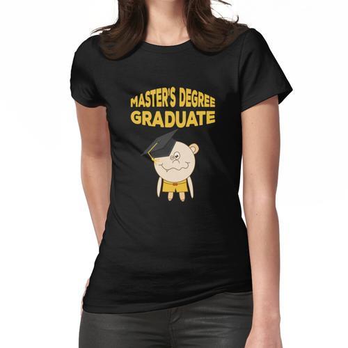Master Abschlussfeier 2018 Funny Graduate Frauen T-Shirt