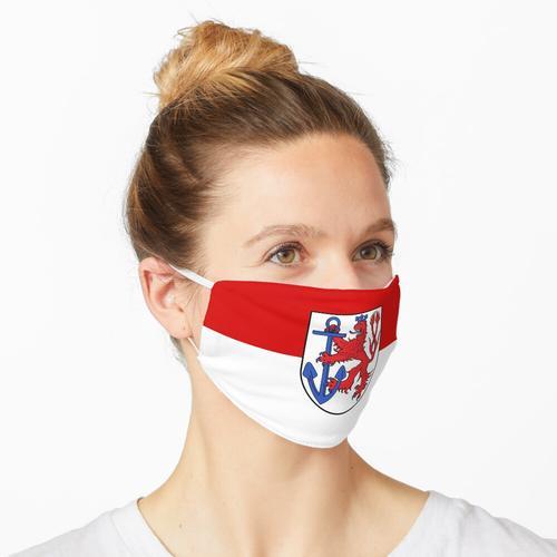 Düsseldorfer Flagge Maske