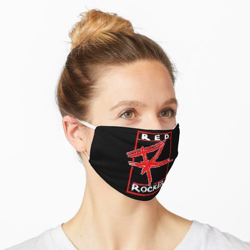 Rote Wippe Maske