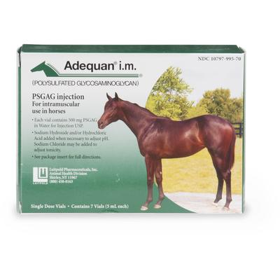 Adequan Equine 5 ml Injectable Solution for Horses, Single Vial