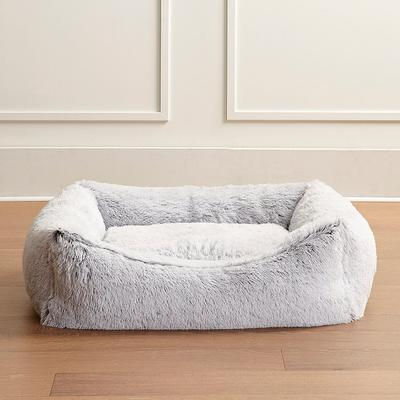 Icelandic Shag Pet Bed - Frost W...