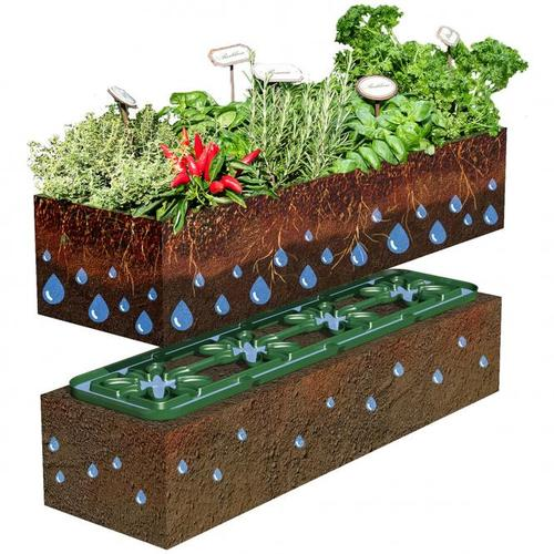Hochbeet Bewässerungshilfe Flora, 10er-Set