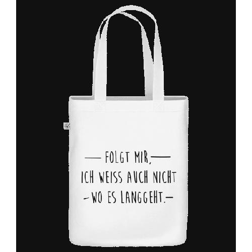Folgt Mir - Bio Tasche