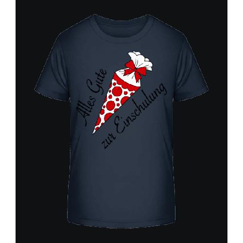 Alles Gute Zur Einschulung - Kinder Premium Bio T-Shirt