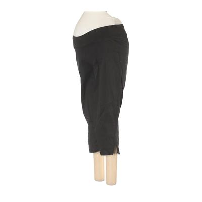 Oh! Mamma Casual Pants - Mid/Reg Rise: Black Bottoms - Size Small Maternity