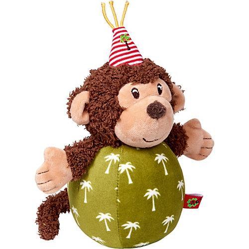 BabyGlück: Steh-auf-Affe mit Glockenspiel