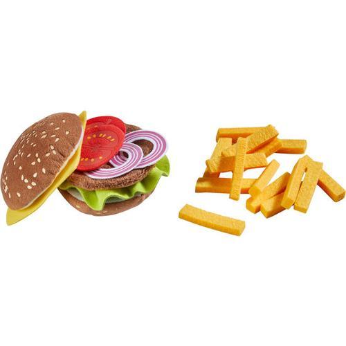 HABA Burger mit Pommes frites, braun