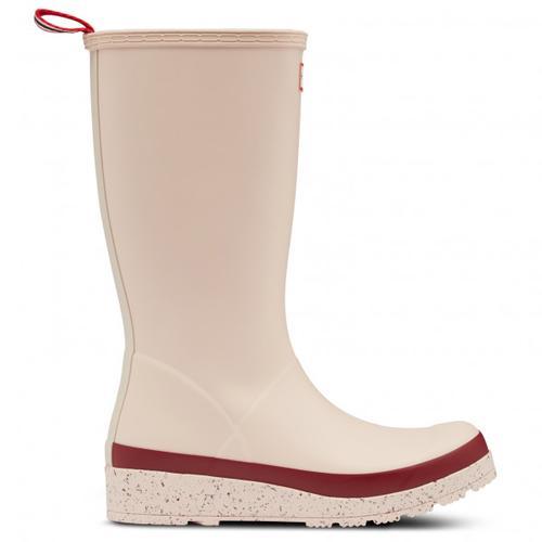 Hunter - Women's Play Tall Speckle Sole Wellington Boots - Gummistiefel 36 | EU 36 beige