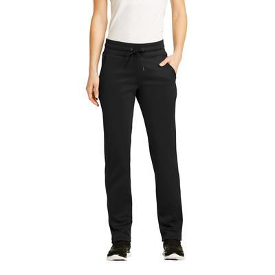 Sport-Tek LST237 Women's Sport-Wick Fleece Pant in Black size 4XL | Polyester