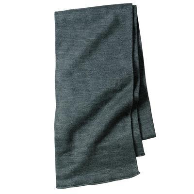 Port & Company KS01 - Knitted Scarf in Oxford size OSFA | Acrylic