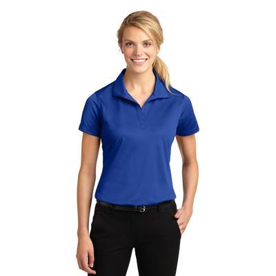 Sport-Tek LST650 Women's Micropique Sport-Wick Polo Shirt in True Royal Blue size Medium | Polyester