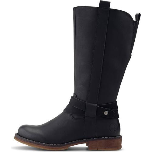 Rieker, Trend-Stiefel in schwarz, Stiefel für Damen Gr. 38