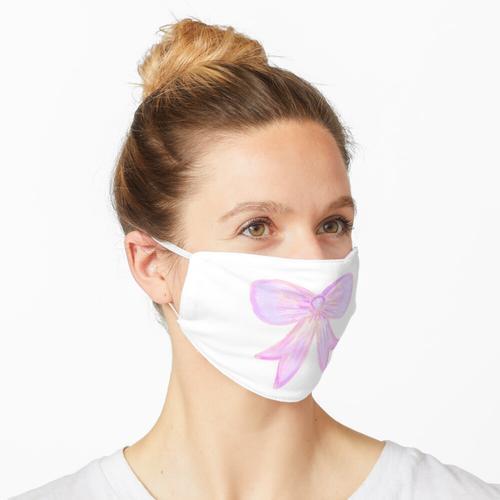 Pinker Bogen Maske