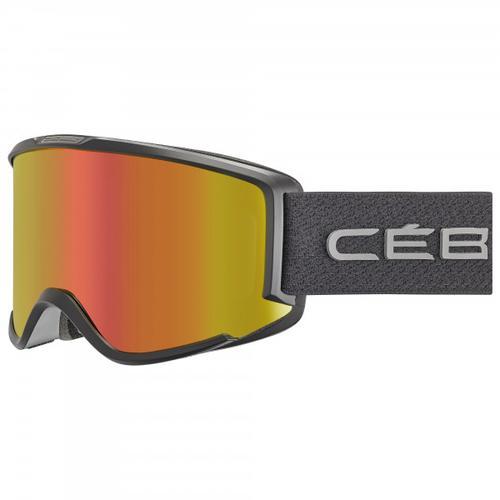Cébé - Women's Silhouette Vario Cat. 1-3 (VLT 56-15%) - Skibrille Gr M grau/orange