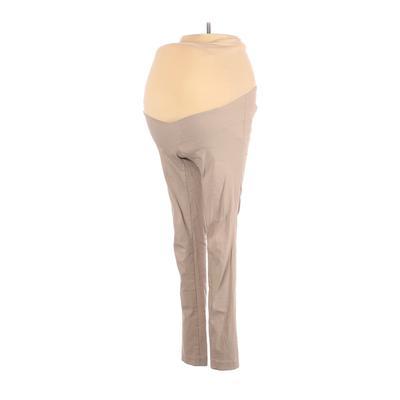 Motherhood Casual Pants - Super Low Rise: Tan Bottoms - Size X-Small Maternity