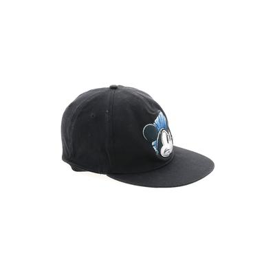 Disney Baseball Cap: Black Solid Accessories - Size Large