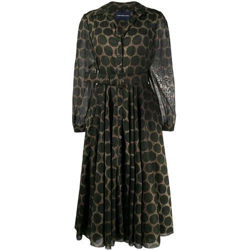 Samantha Sung Gepunktetes Kleid