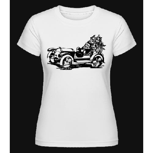 Weihnachten Oldtimer - Shirtinator Frauen T-Shirt