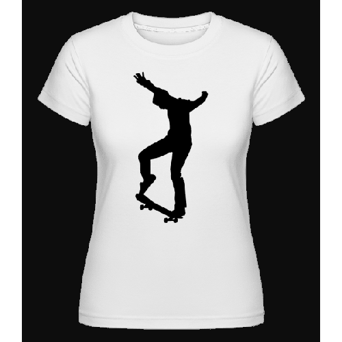 Skateboarder Manual - Shirtinator Frauen T-Shirt