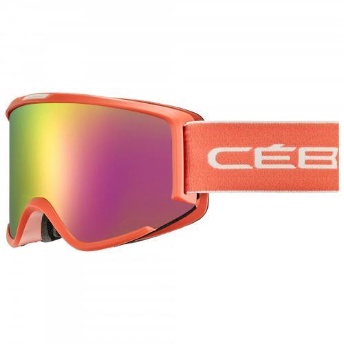 Cébé - Women's Silhouette Flash Cat. 2 (VLT 29%) - Skibrille Gr M rot/rosa