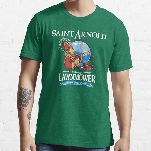Saint Arnold Fancy Rasenmäher Texas Deutsches Bier Essential T-Shirt