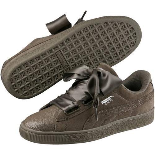 Puma Damen Sneaker Suede Heart Bubble Wn, Größe 41 in BUNGEE CORD-BUNGEE CORD