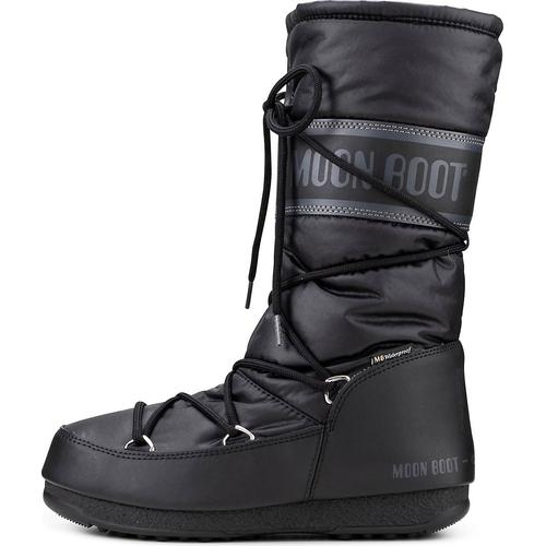 Moon Boot, Moonboots High Nylon Wp in schwarz, Boots für Damen Gr. 41