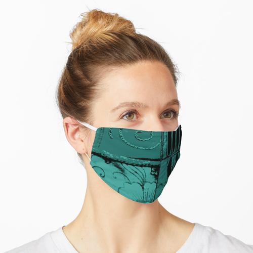 Kathmandu blau Cutwork Nepal Maske