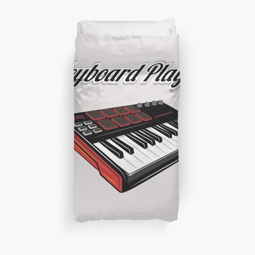 Keyboard Player V3 Duvet Cover