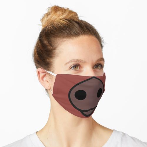 Duroc Schweinegesicht Maske