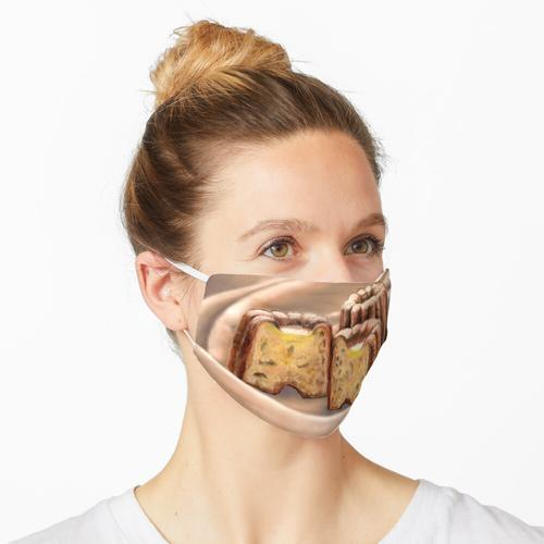 Geriffelt Maske