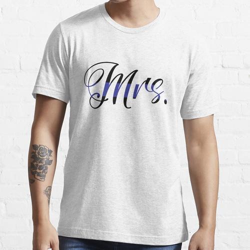 Frau Polizeifrau Essential T-Shirt