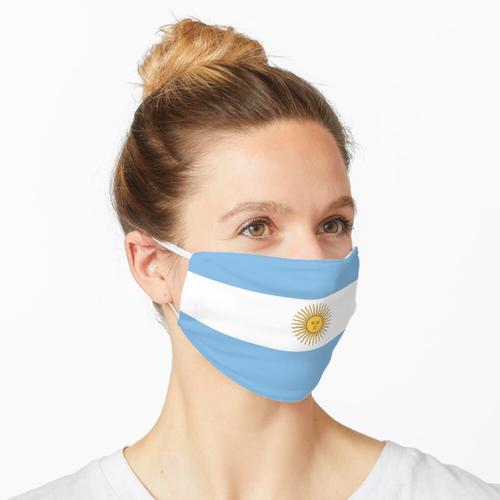 Argentinien Argentinische Flagge Maske