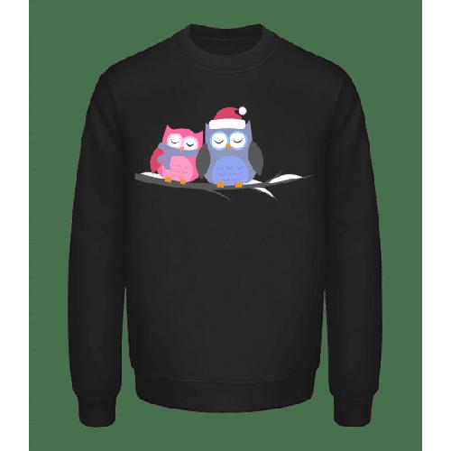 Weihnachtseulen - Unisex Pullover