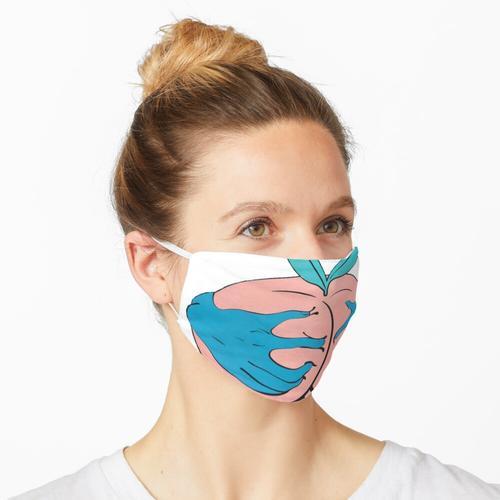 Schnapp dir die Riesenpfirsich-Ware Maske