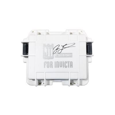 Invicta Autographed Jason Taylor 3-Slot Impact Case - Model DC3WHT-S