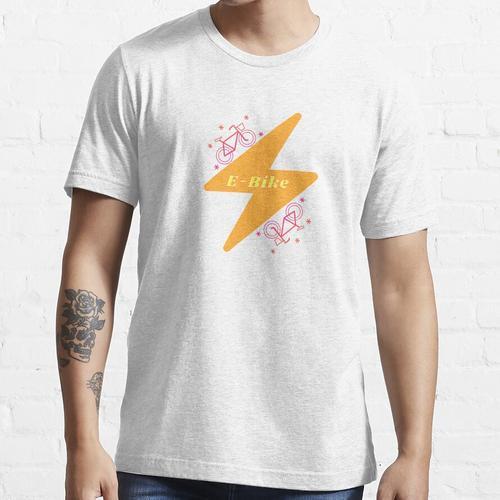E Fahrrad (Elektrofahrrad) Essential T-Shirt