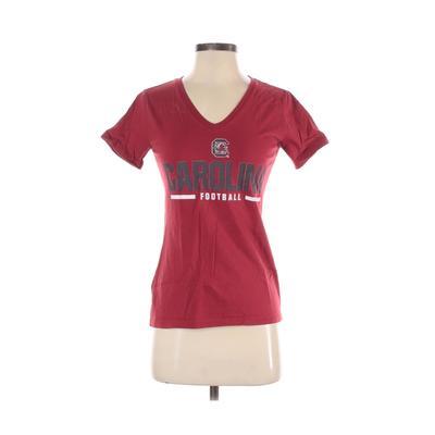 Short Sleeve T-Shirt: Burgundy S...