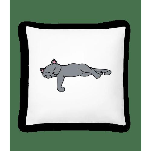 Schlafende Katze - Kissen