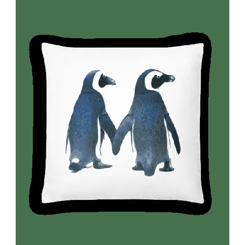 Pinguin Paar - Kissen